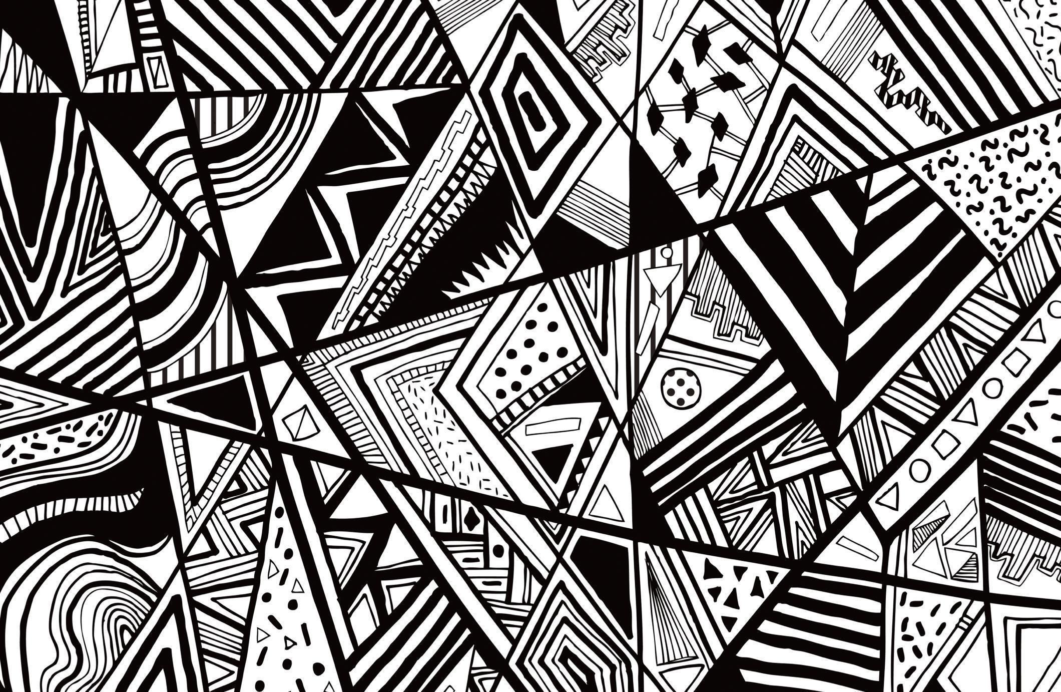 Black And White Abstract Backgrounds 2120x1382