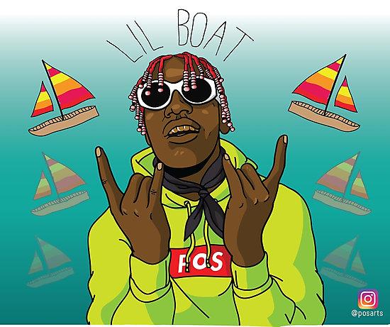 Lil Yachty Fan Art LIL BOAT Photographic Prints by 550x461