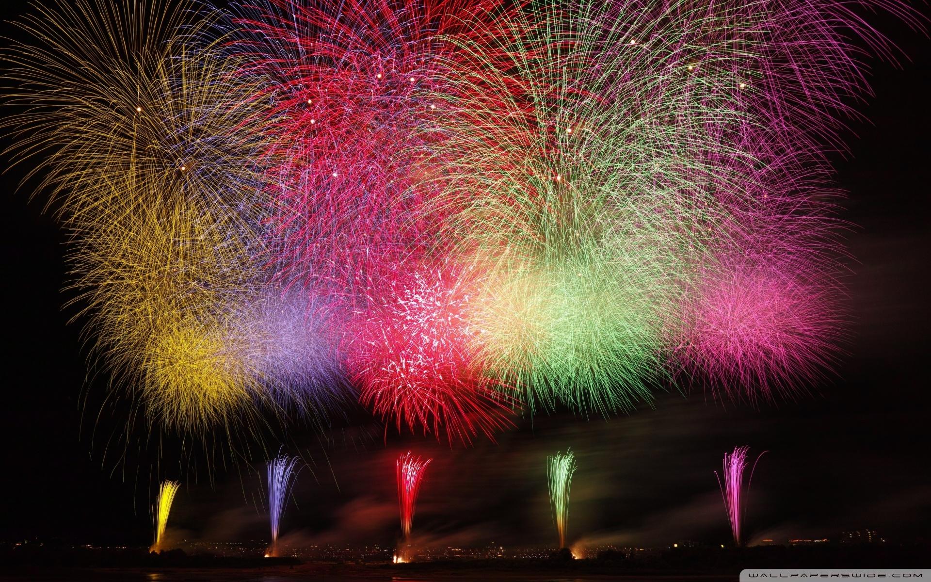 Amazing Fireworks 2020 Ultra HD Desktop Background Wallpaper for 1920x1200