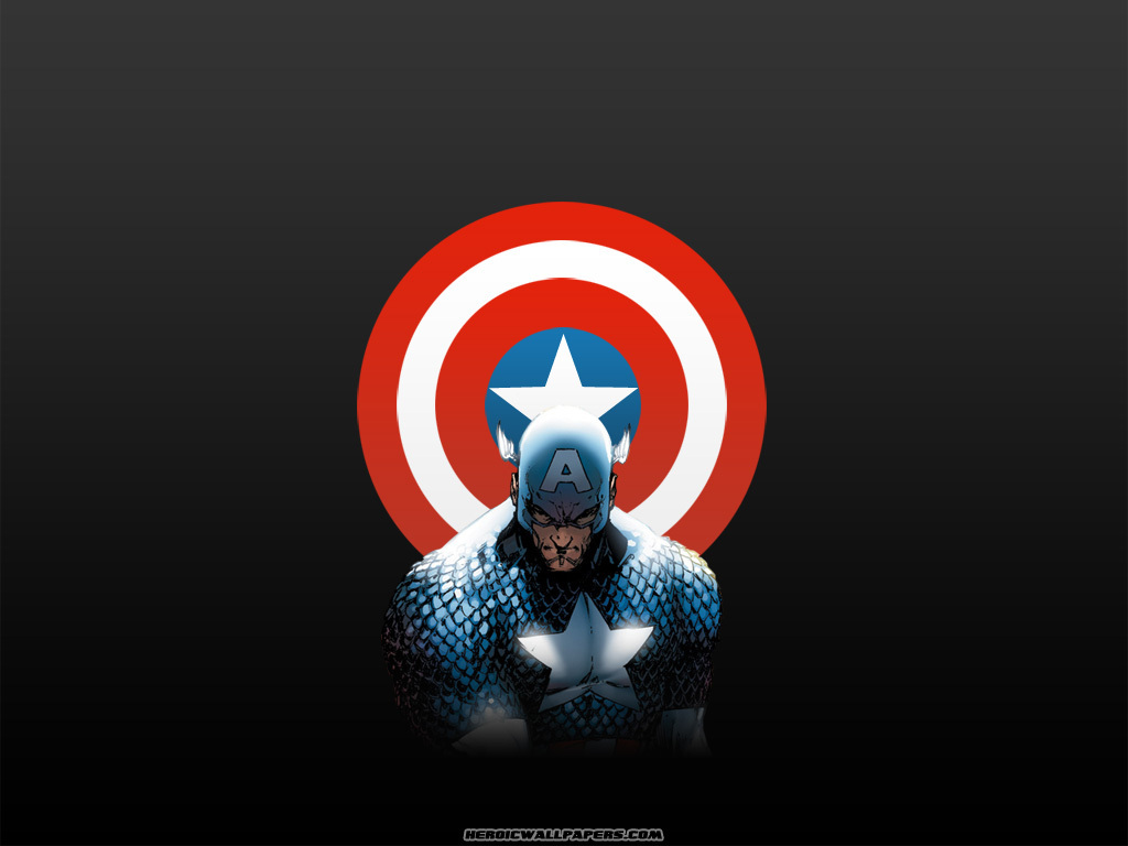 Captain America   Marvel Comics Wallpaper 3979574 1024x768