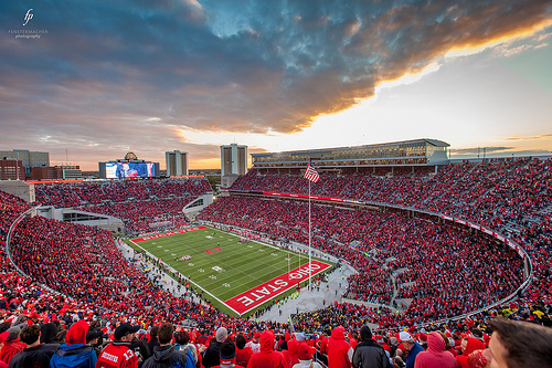Ohio Stadium At Sunset Flickr Photo Sharing 500x333