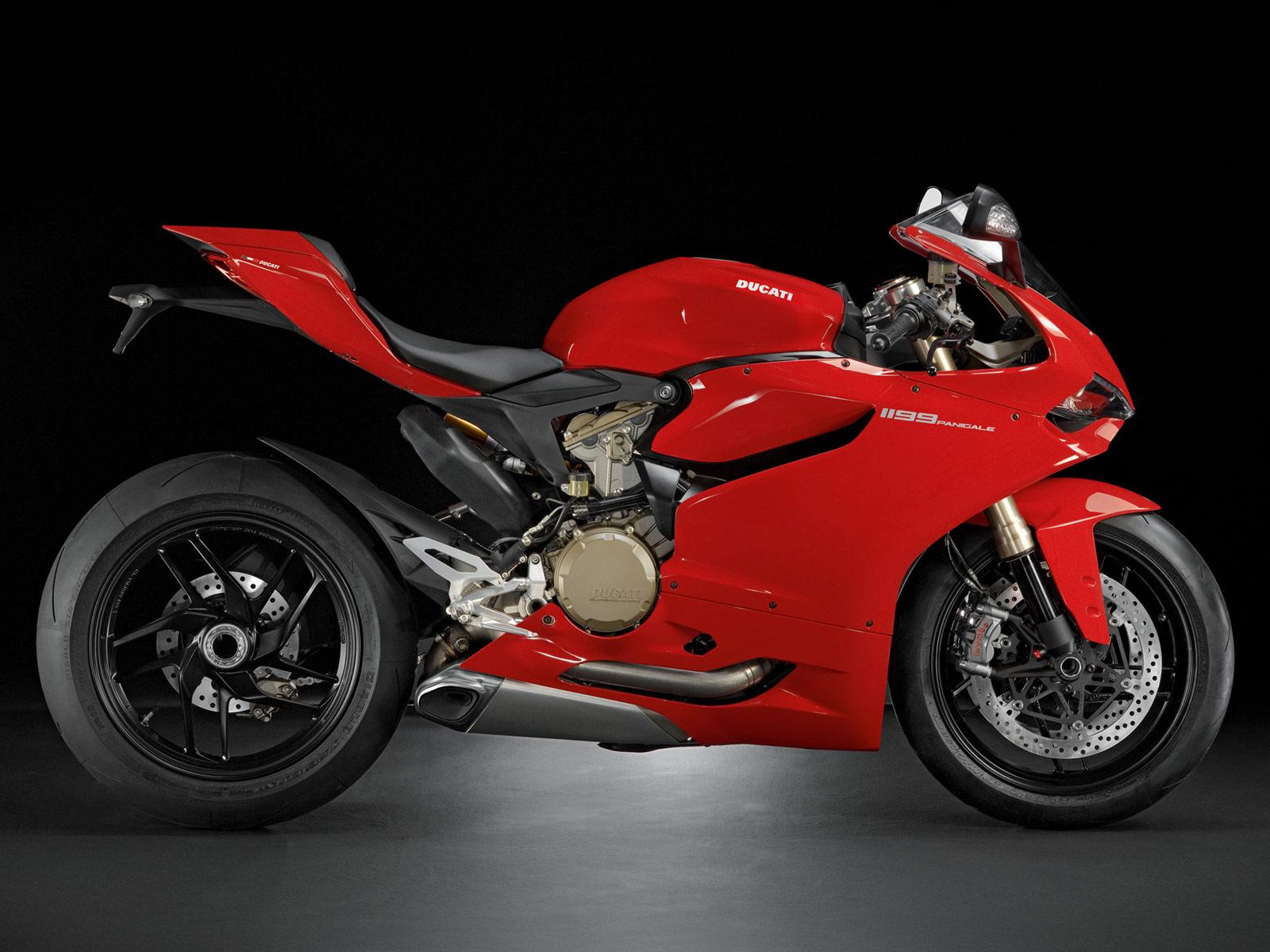 2012 DUCATI 1199 Panigale Motorcycle Desktop Wallpapers 1600x1200