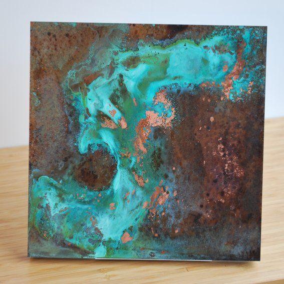 Custom Made Copper Patina Wall Art Art Pinterest 567x567