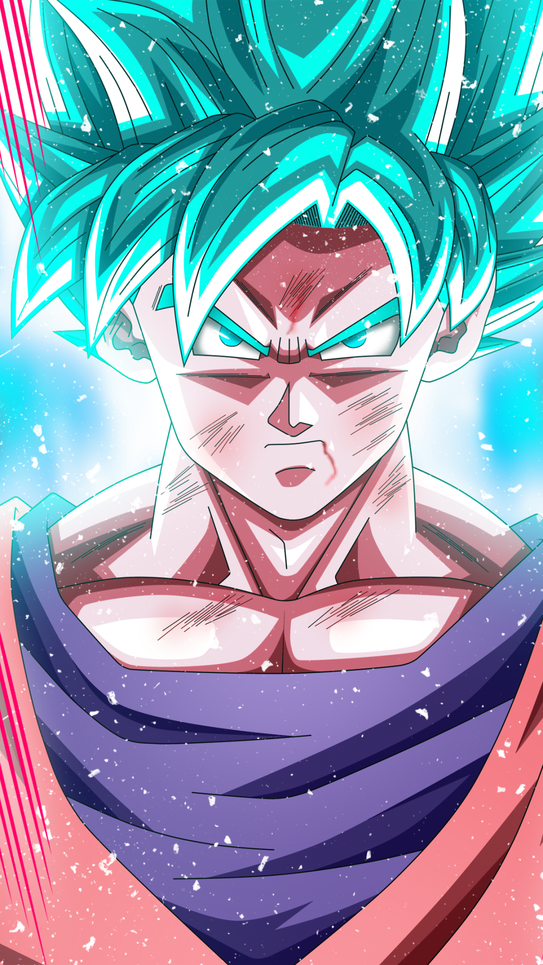 SSGSS Goku Pantalla de goku 1080x1920