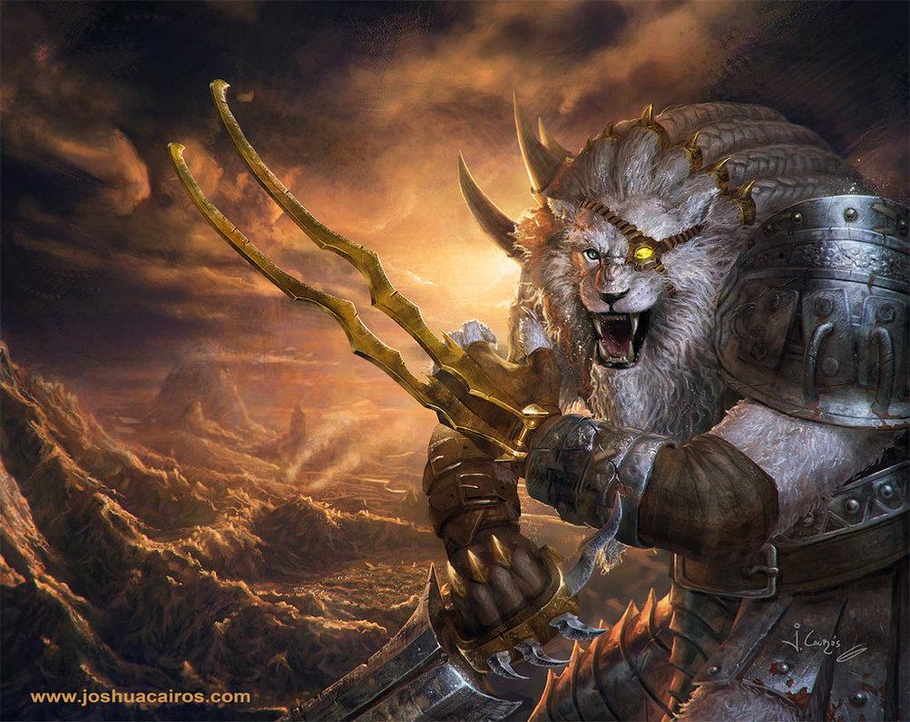 Rengar League of Legends by 1oshuart 1003x796