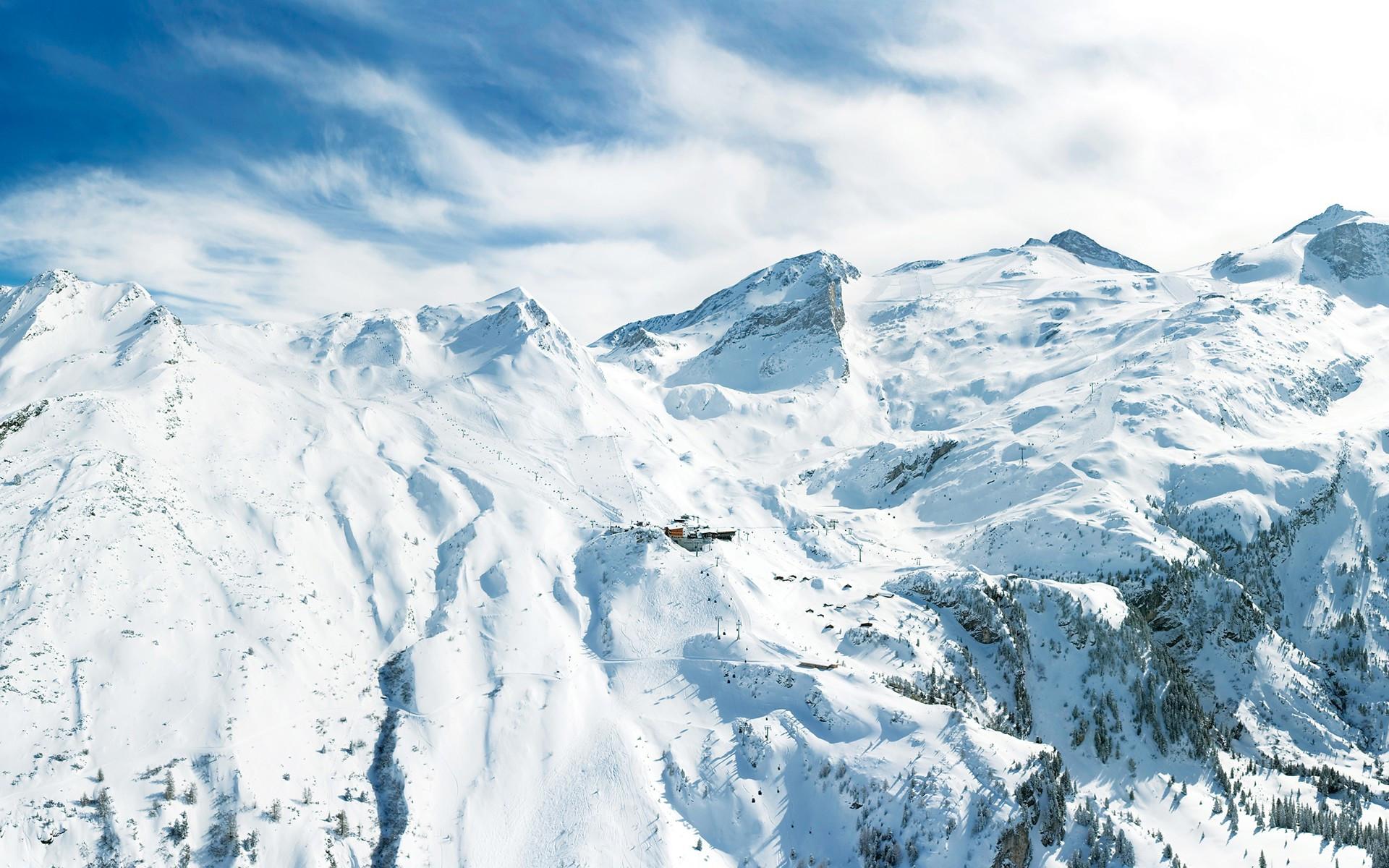 Снег на горных склонах  № 2945001 без смс