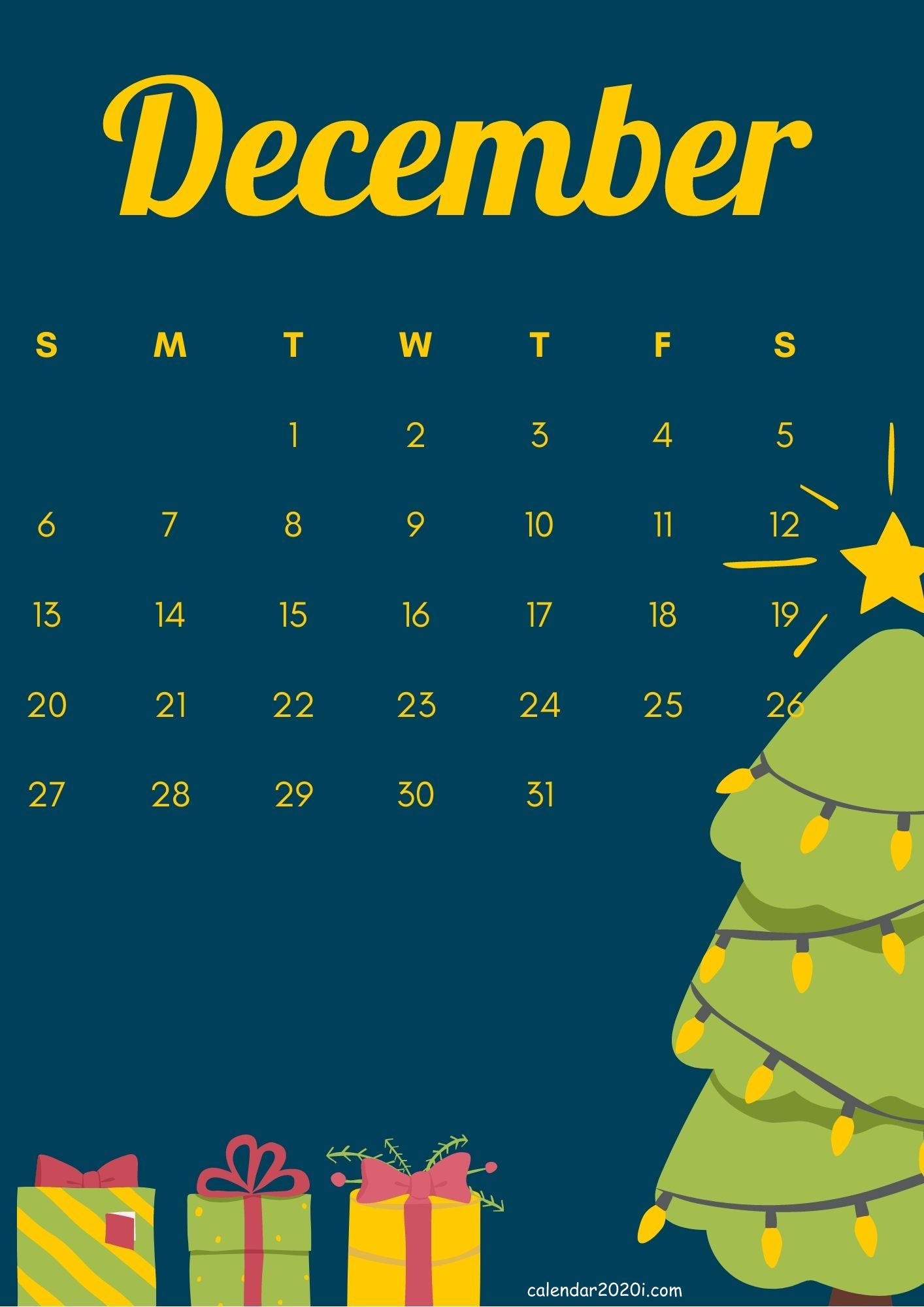 iPhone December 2020 Calendar HD Wallpapers Download 1414x2000