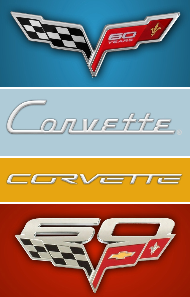 Corvette Logo Wallpaper Generator for Mobile Devices Solidly Stated 640x1000