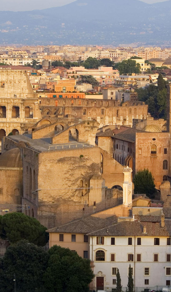 background desktop wallpapers world italy ancient buildings in rome 600x1024