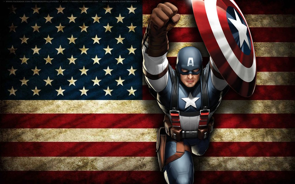 Free Download Captain America Logo Hd Wallpapers 1080p
