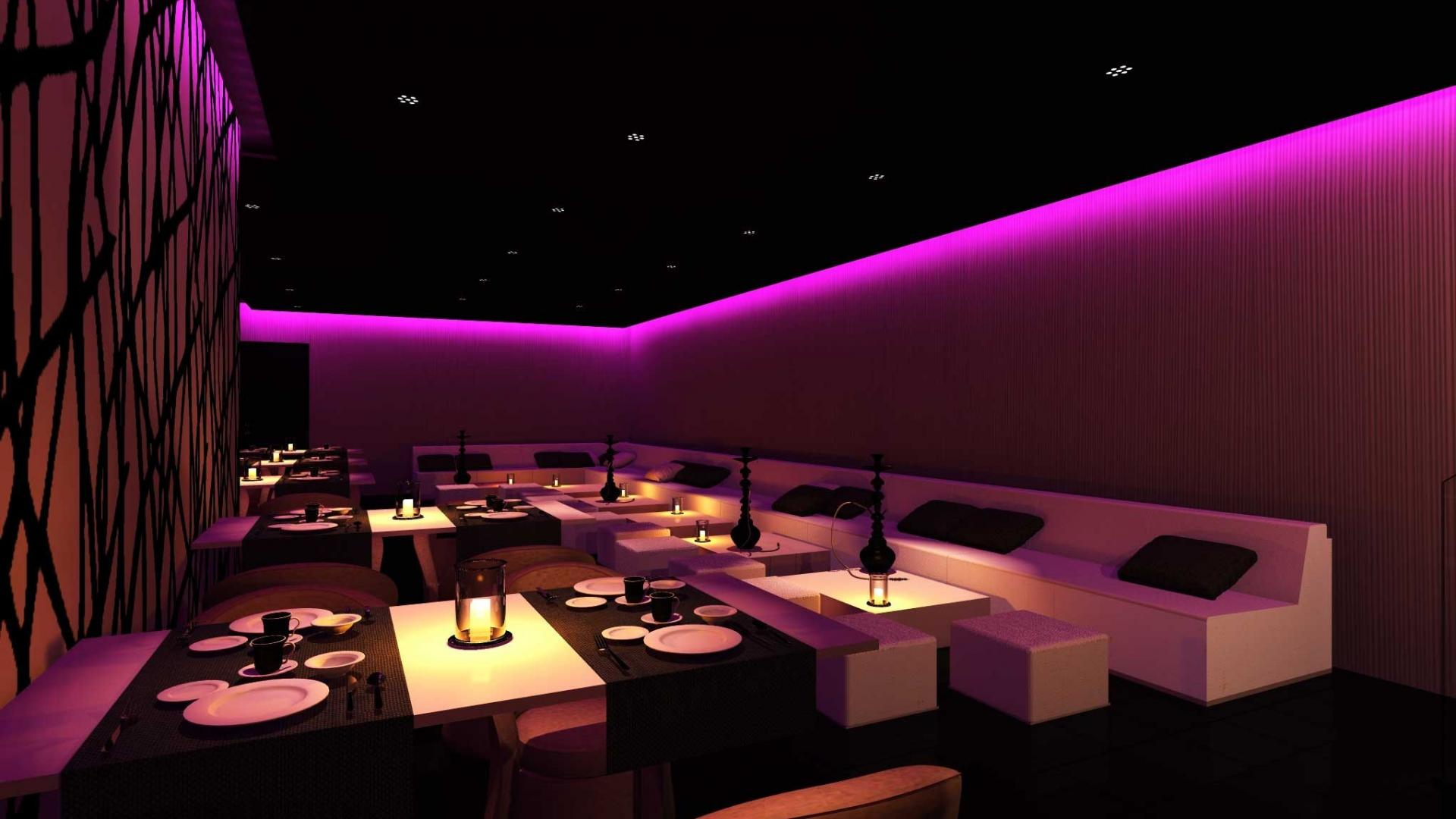 Night club wallpaper wallpapersafari for Lounge designs