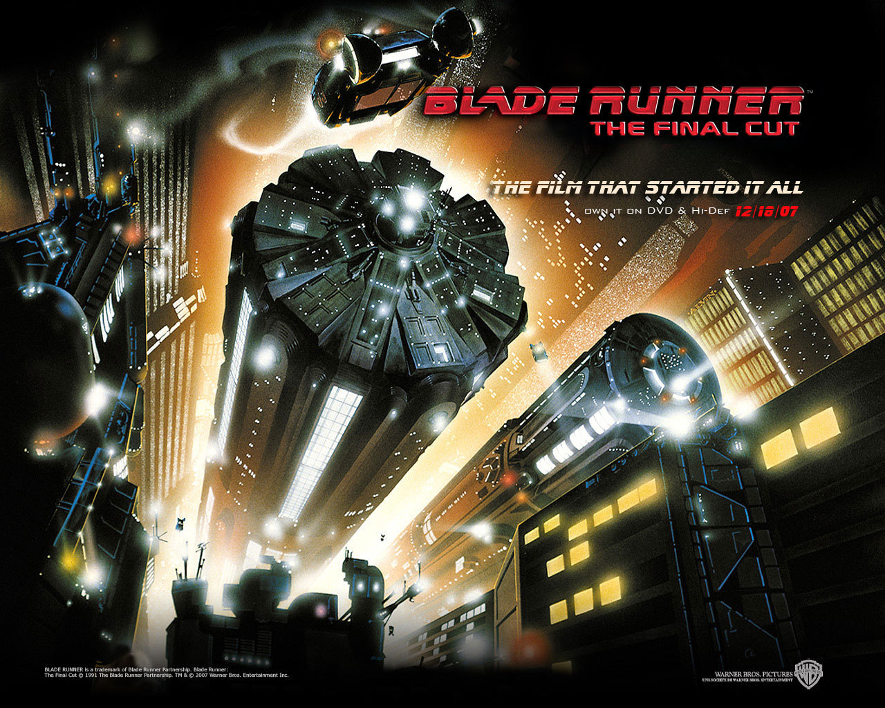 Official Blade Runner Wallpaper   Blade Runner Wallpaper 8207486 1280x1024