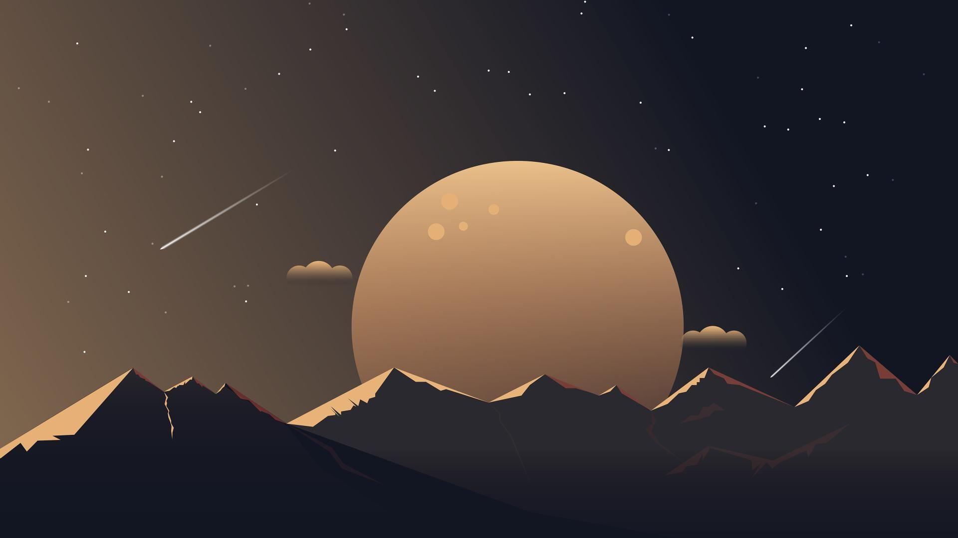 Artistic Moon 1920x1080 Computer wallpaper desktop wallpapers 1920x1080