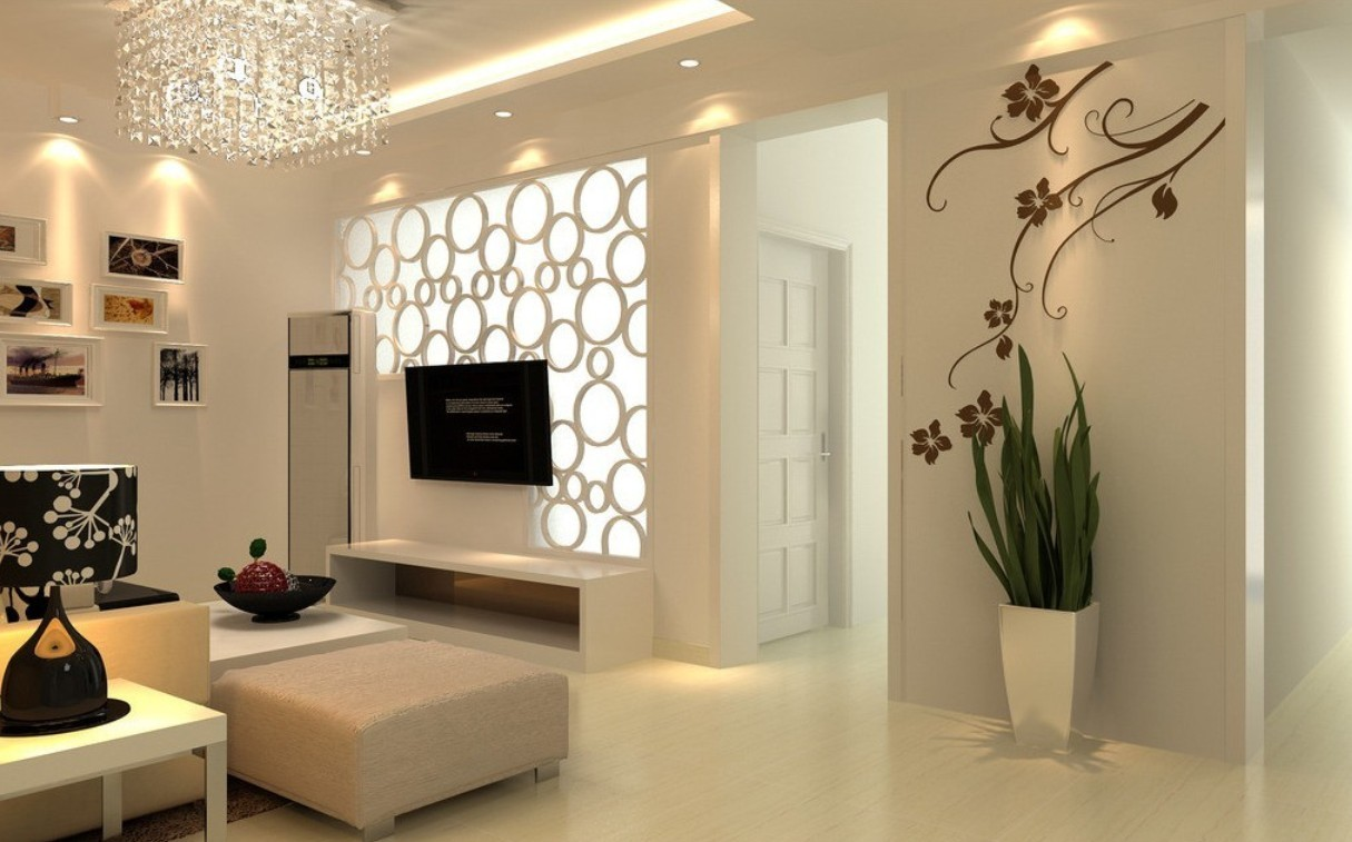 48 3d interior wallpaper on wallpapersafari - Interior of living room pictures ...