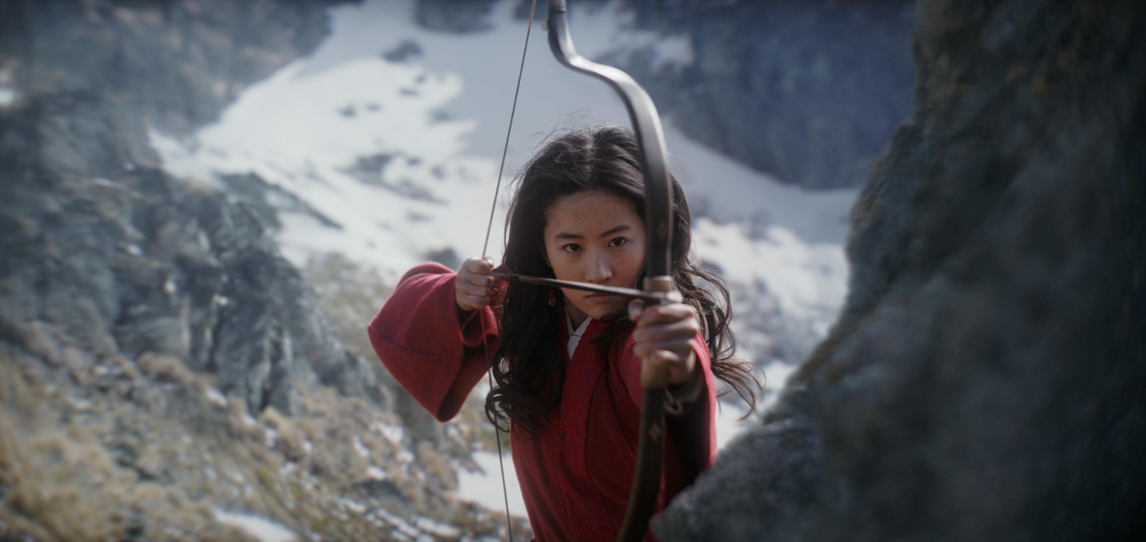 Disney Live Action Remake Mulan Unveils 14 New Images Poster 2275x1076