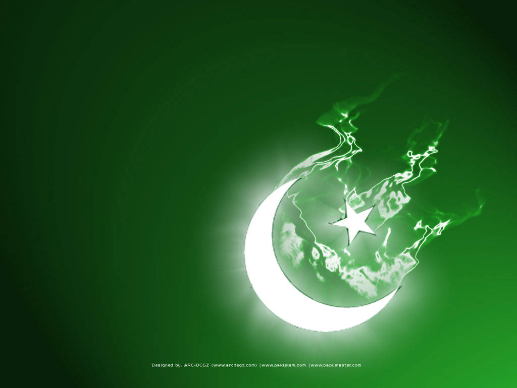 Pakistan Independence Day Light of Freedom   Wallpapers On This Day 1024x768