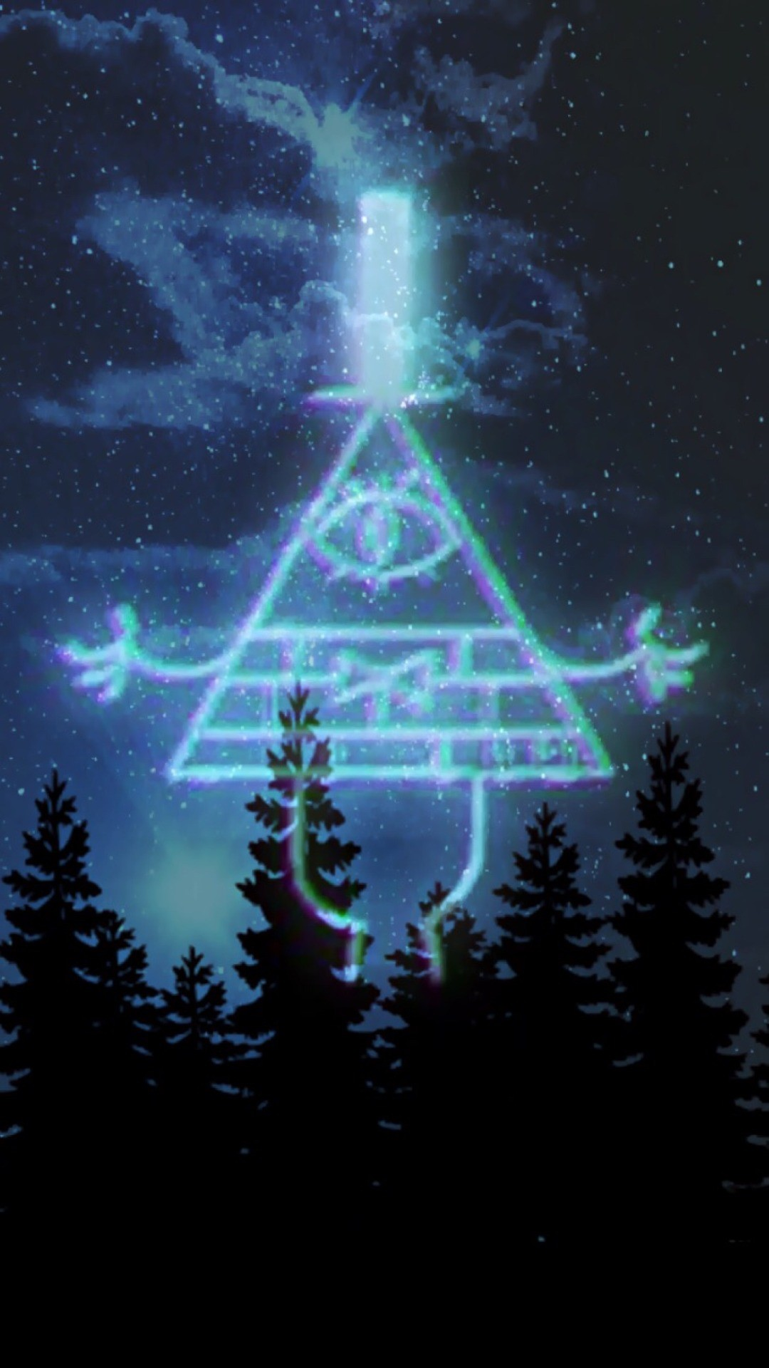 download Gravity Falls Bill Cipher Wallpaper 80 images 1080x1920