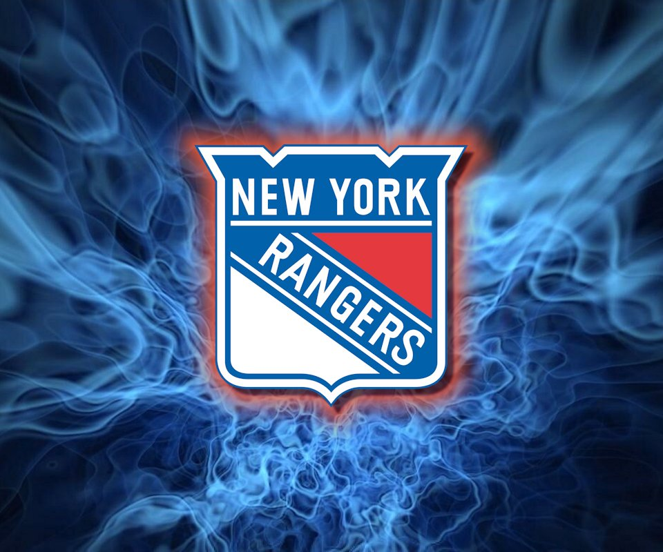 new york rangers wallpaper either the main logo or the 3rd jersey logo 960x800
