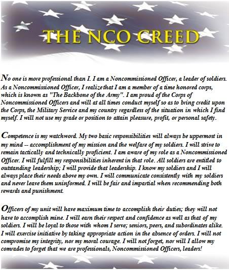 Senior nco creed wallpapers 452x532