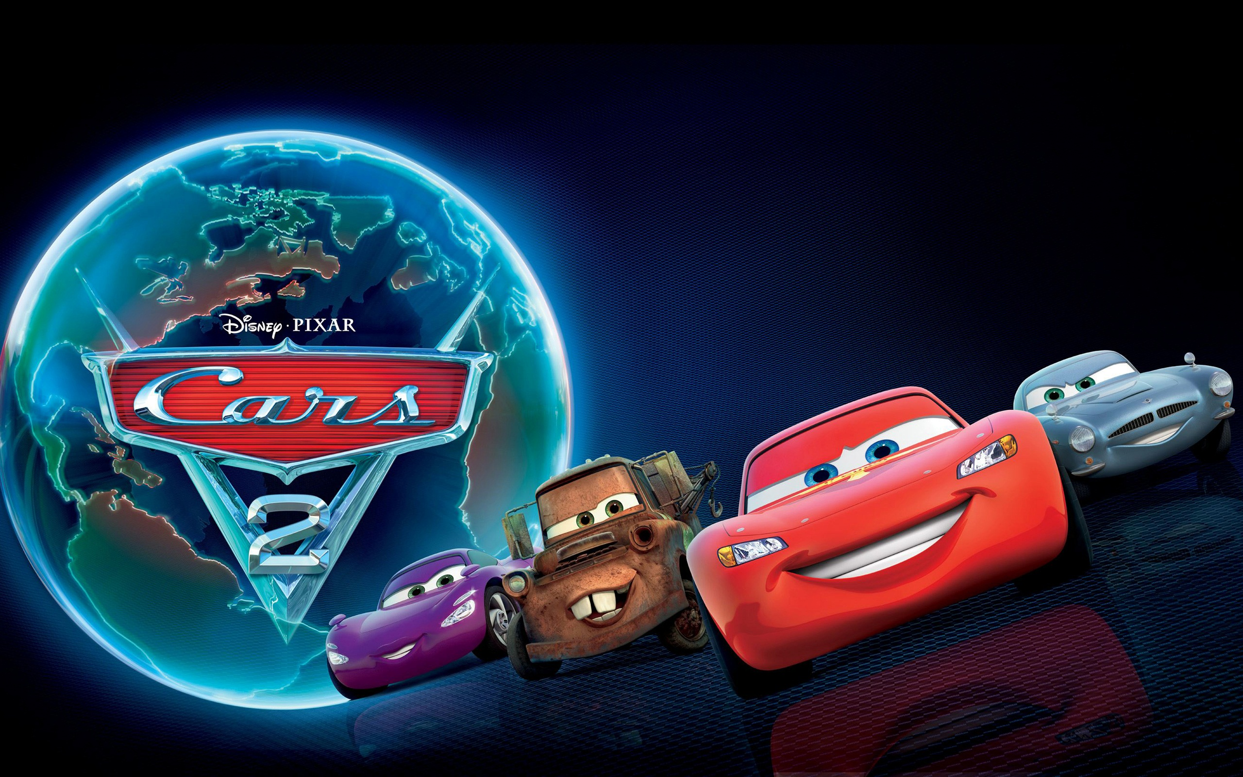 Cars 2   Disney Pixar Cars 2 Wallpaper 34551625 2560x1600