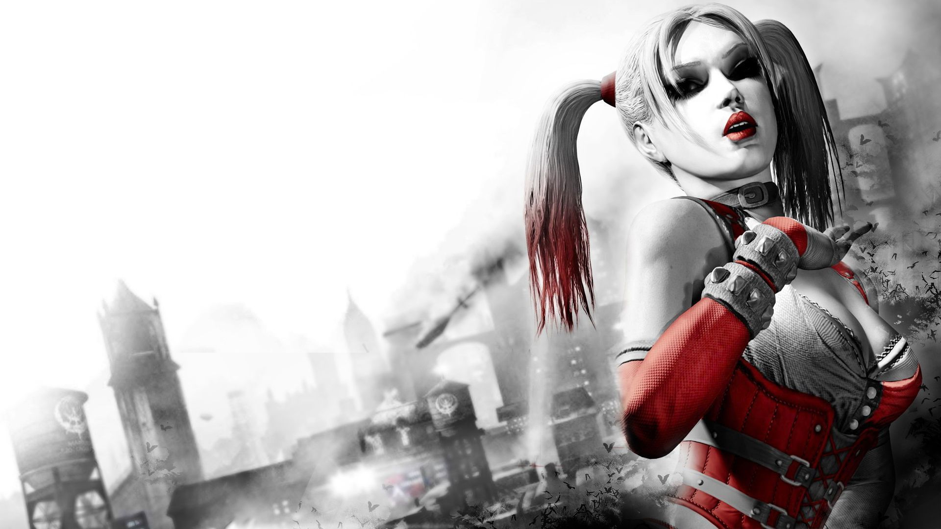 Harley Quinn   Batman   Arkham City wallpaper   1024119 1920x1080