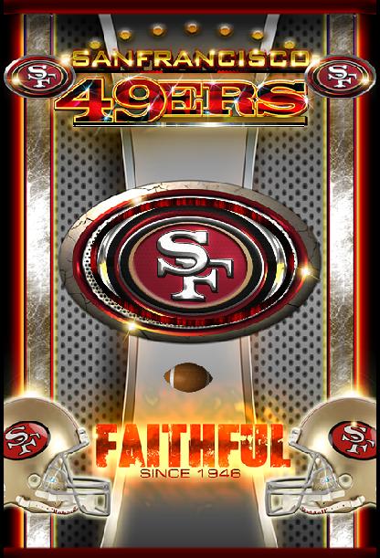 SF 49ers NEW 3D Live Wallpaper   screenshot 416x611
