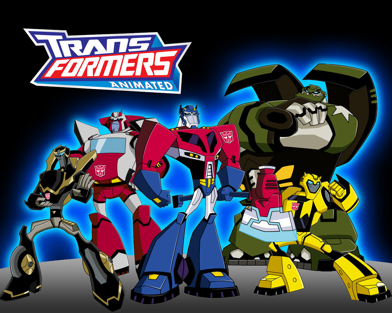 Transformers Animated Series Transformers animated wallpapaer 1280x1024