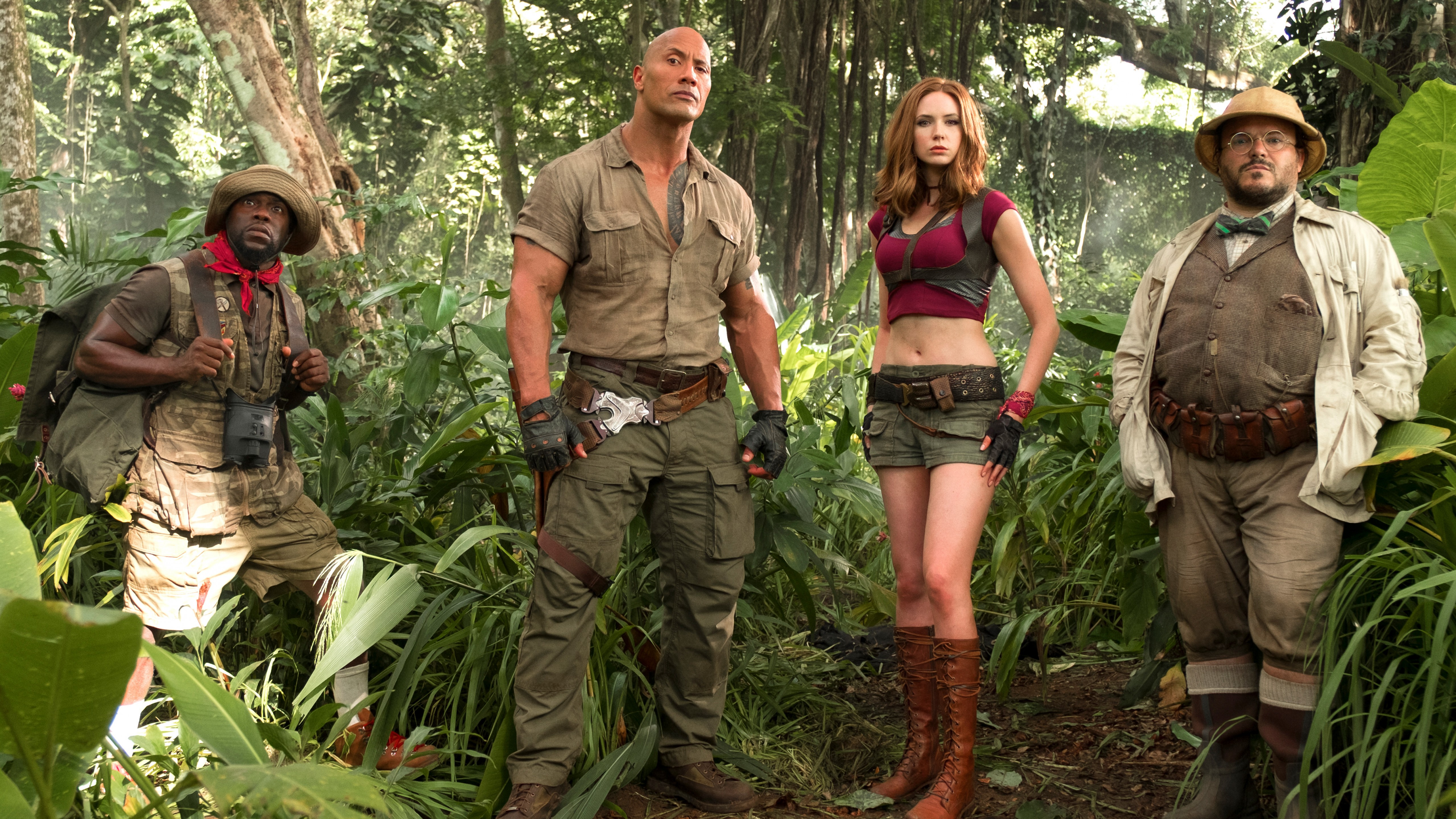 Jumanji Welcome to the Jungle Wallpaper 6   5120 X 2880 stmednet 5120x2880