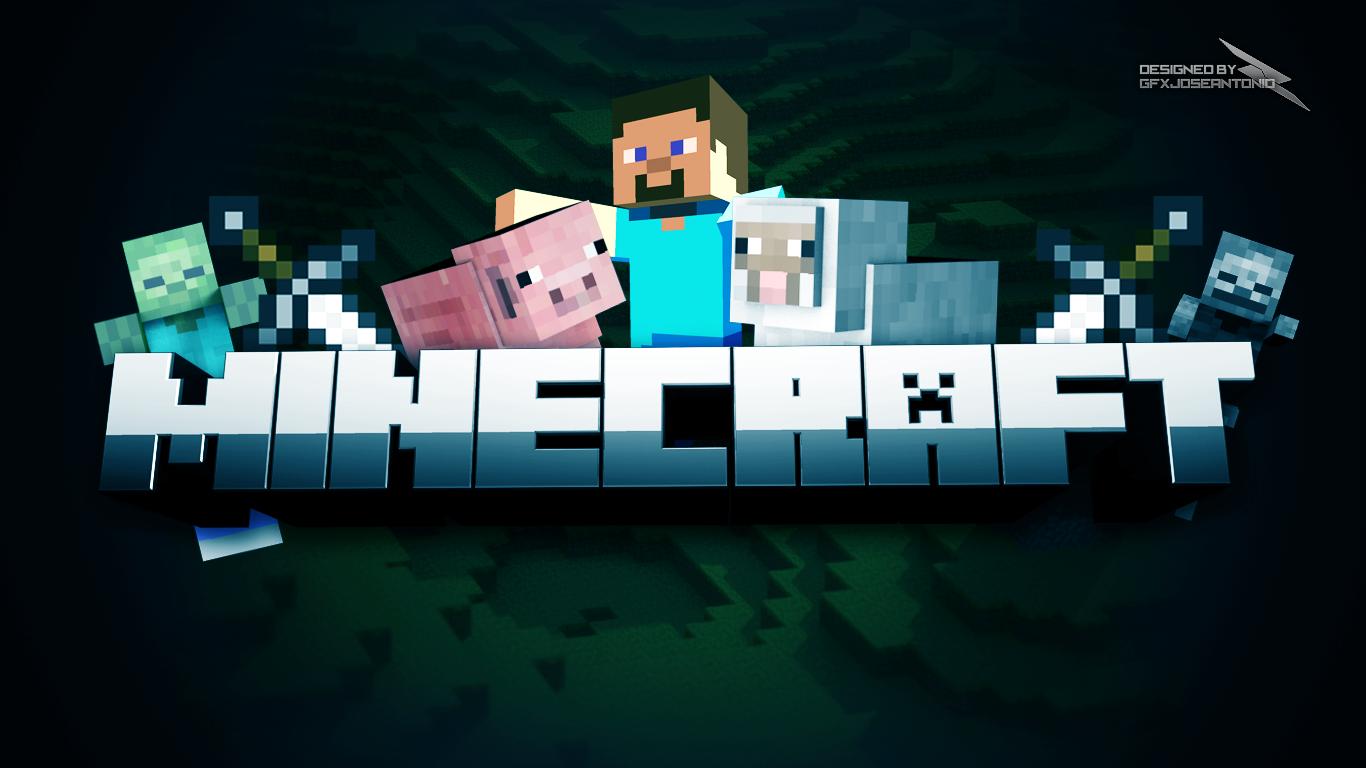 Minecraft Wallpaper by GFXJose Antonio 1366x768