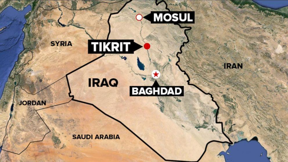 US Not Providing Air Support for Iraqi Push to Retake Tikrit 992x558