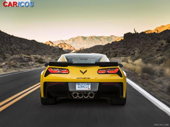 2015 Chevrolet Corvette Z06   Rear HD Wallpaper 84 1920x1080 716x537