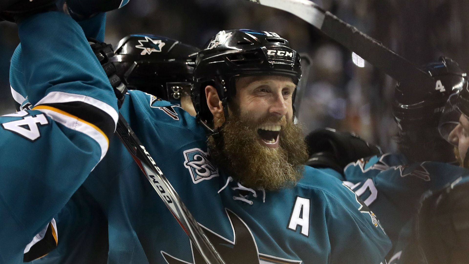 Joe Thornton should watch hockey not play with kids says Mike 1920x1080