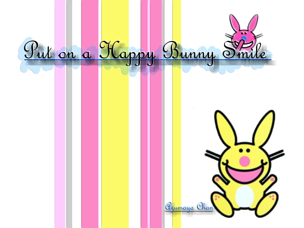 Happy bunny wallpapers   Wallpaper Bit 1024x768