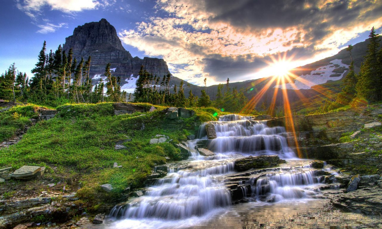 Waterfall Screensaver by Antkoll 1280x768