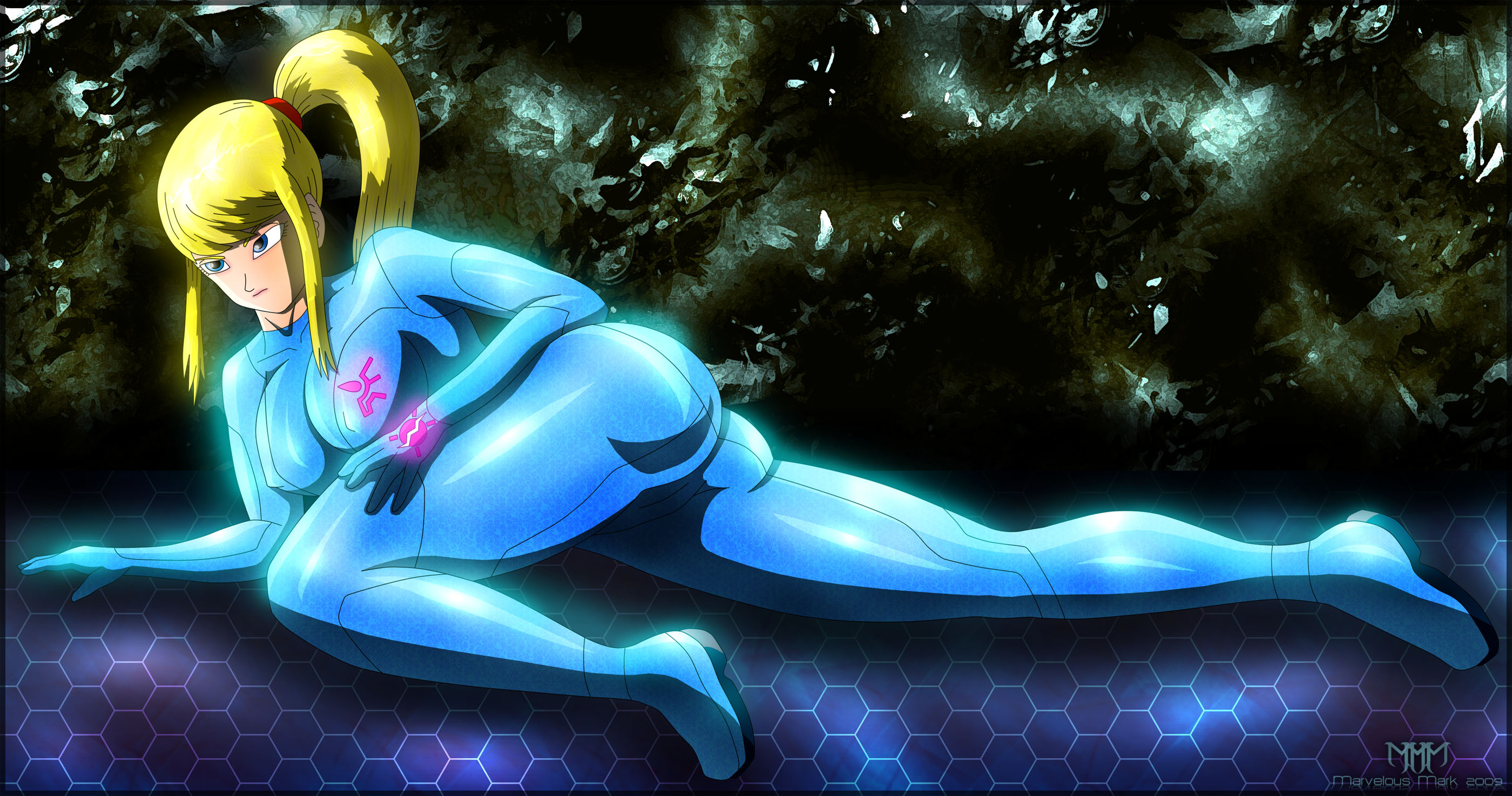 Nude female anime metroid hentay clip