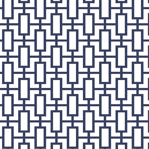 Modern Geometric Wallpaper Navy Blue White Set of 2 Bolts modern 600x600
