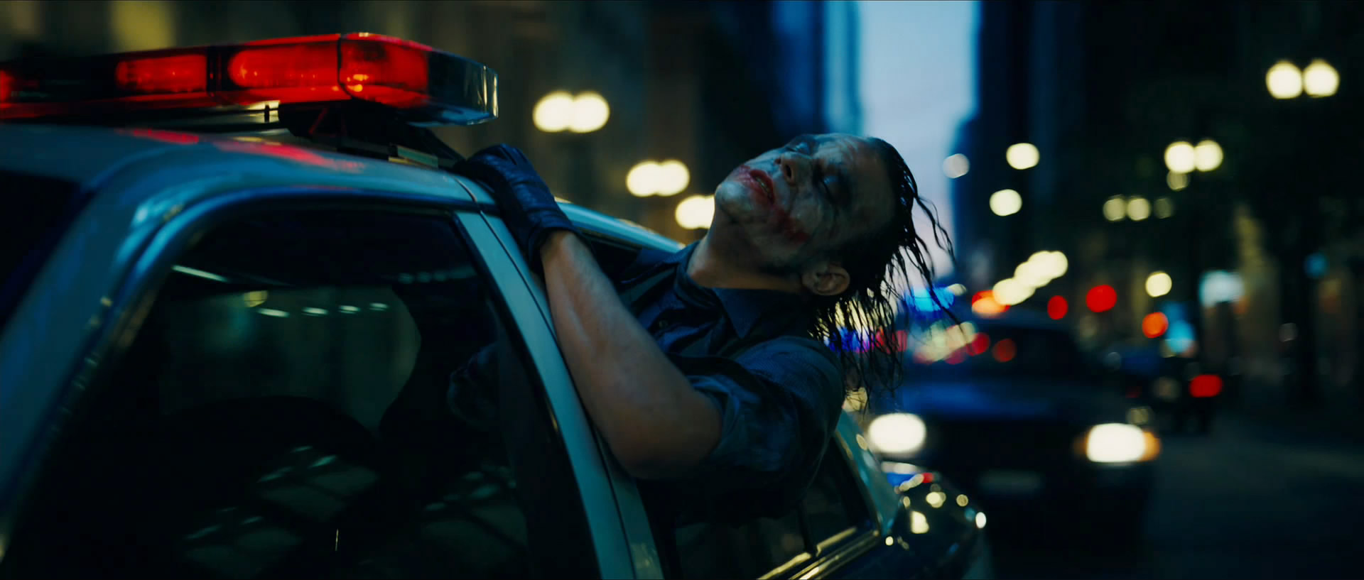 Heath Ledger Joker Car wallpaper 27847 1920x817