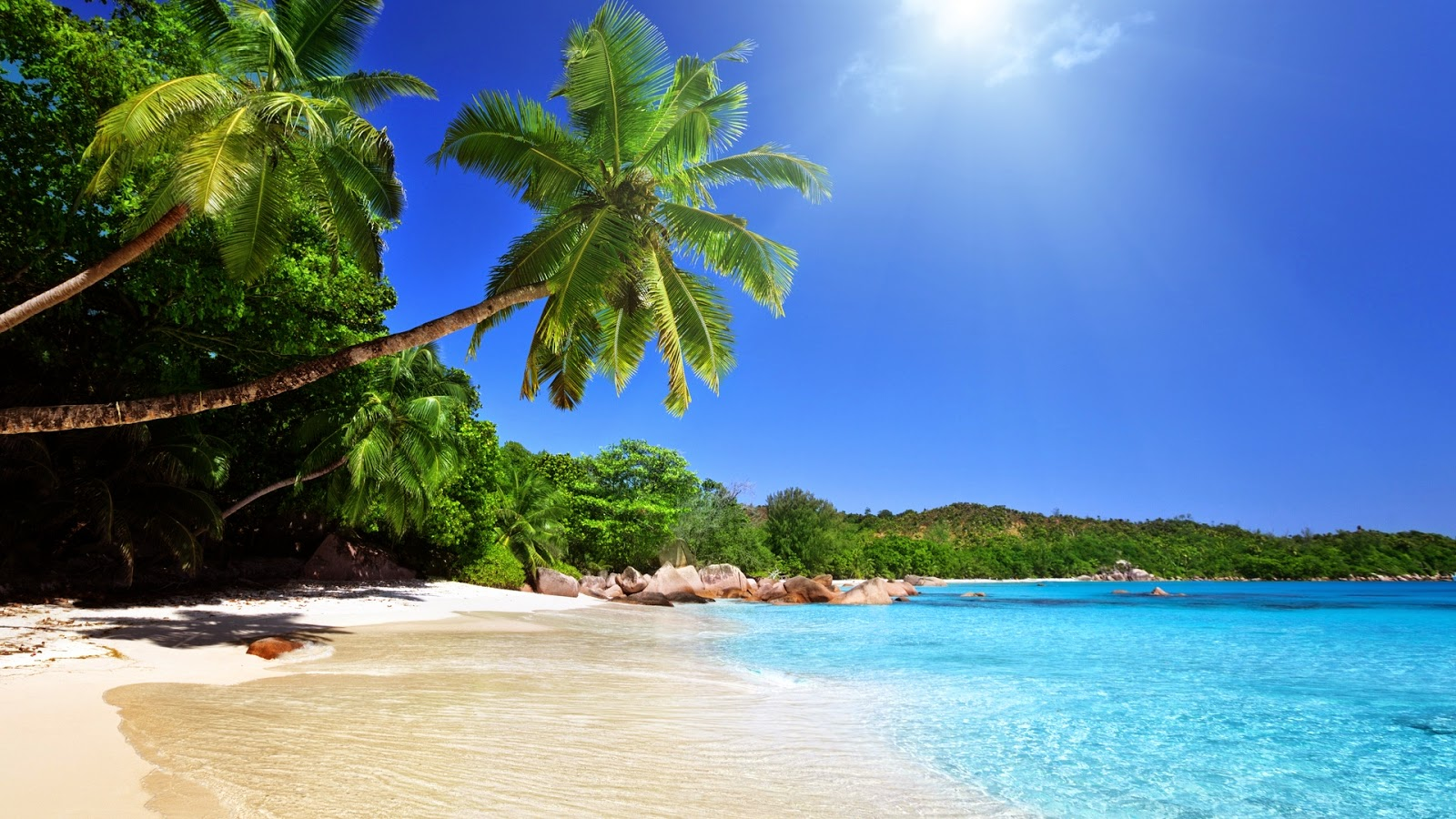 white sand beach view theme HD 1080p photography wallpaper PIXHOME 1600x900