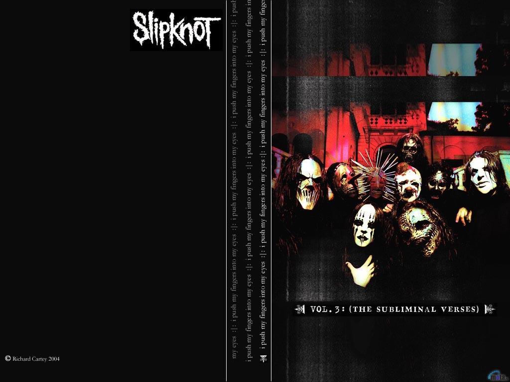 Wallpaper black Slipknot Slipknot 1024x768
