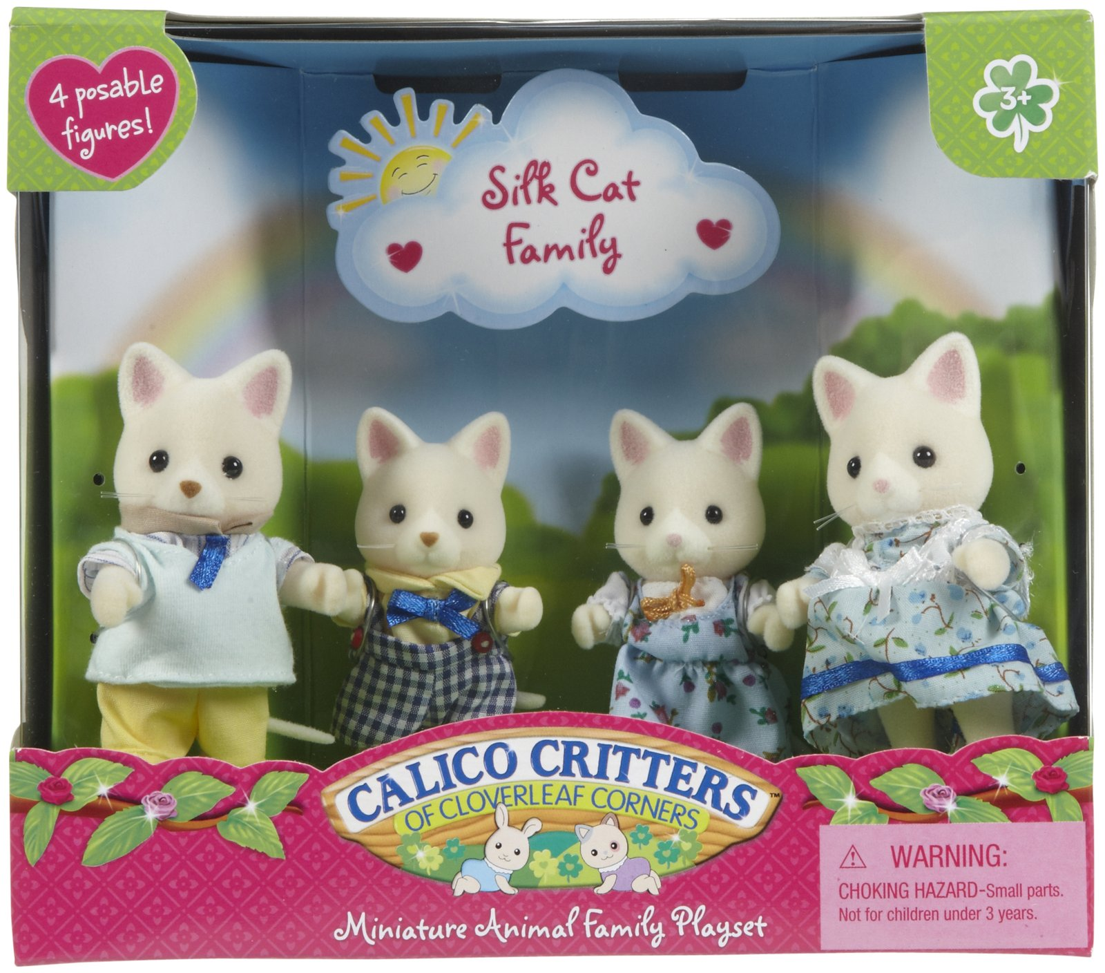 Calico Critters Cat Family 1600x1408