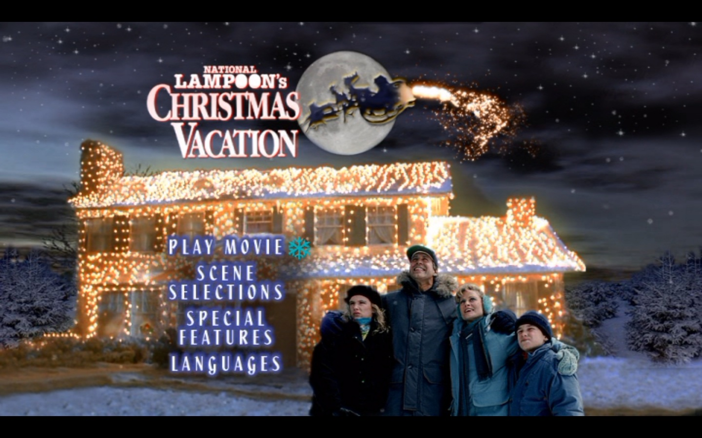 CHRISTMAS VACATION   12 Days of Christmas Countdown Screen 1440x900