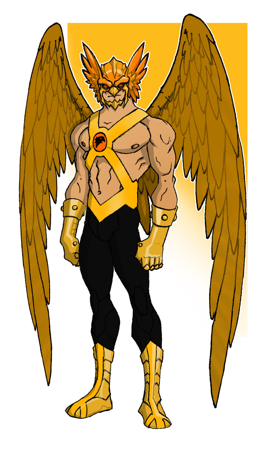 Young Justice Hawkman   Babes HD Wallpaper 900x1500