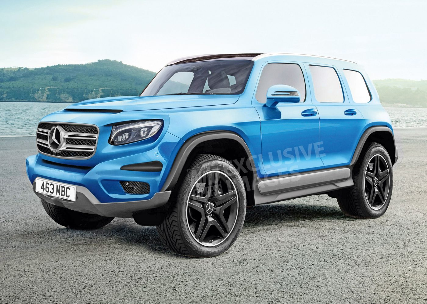 2019 Mercedes GLB HD Wallpapers Car Release Preview 1400x996