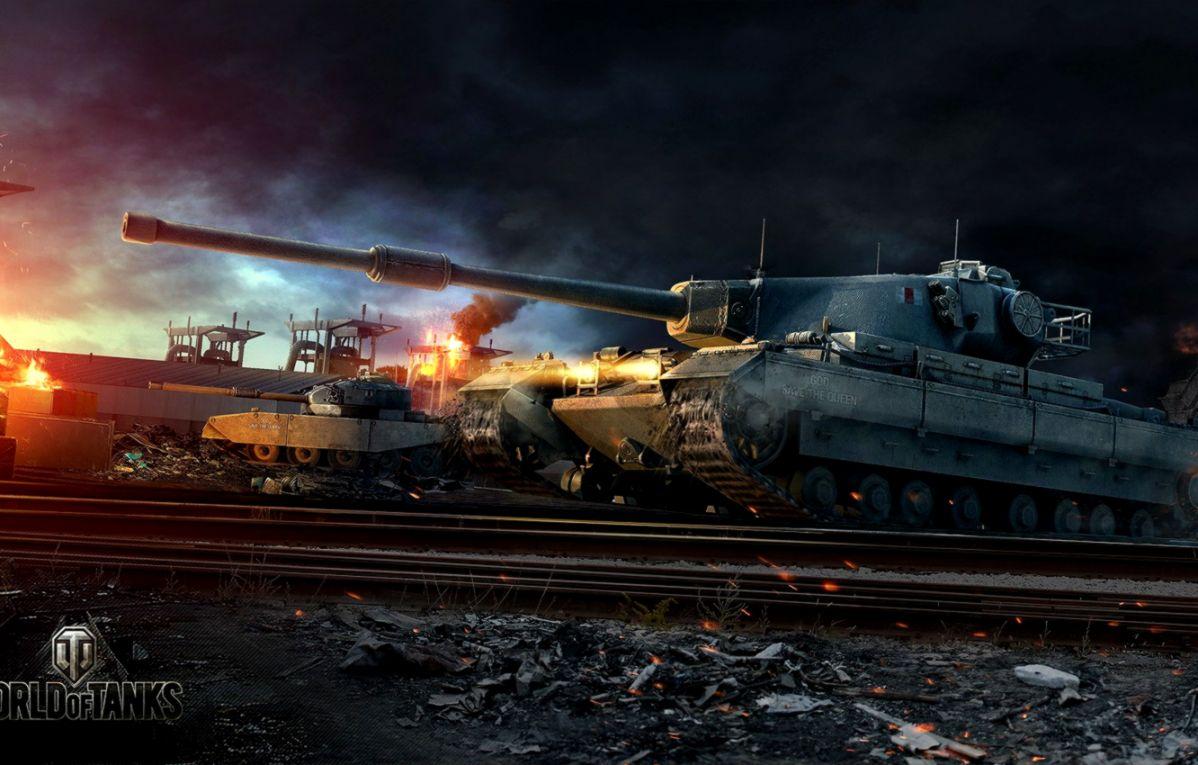 Conqueror World Of Tanks Game Wallpaper Hd Widescreen Smart 1198x765