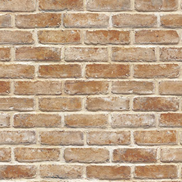 Raised Brick Wallpaper