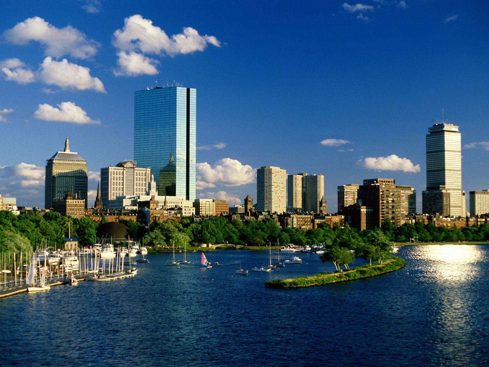 Back Bay Boston Massachusetts