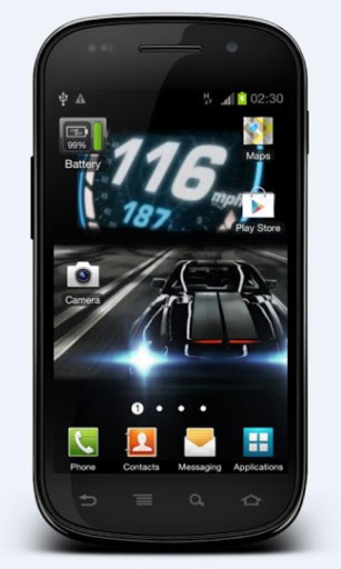 Knight Rider 2008 LWP App for Android 307x512