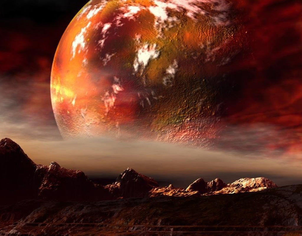Lunar Eclipse Prophecy News Bible Prophecy red planet mars 1024x800
