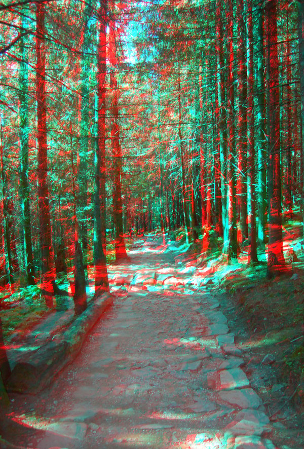 3d anaglyph wallpapers 600x886