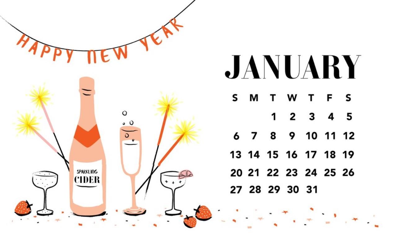 January 2019 HD Calendar Wallpapers Latest Calendar 1267x781